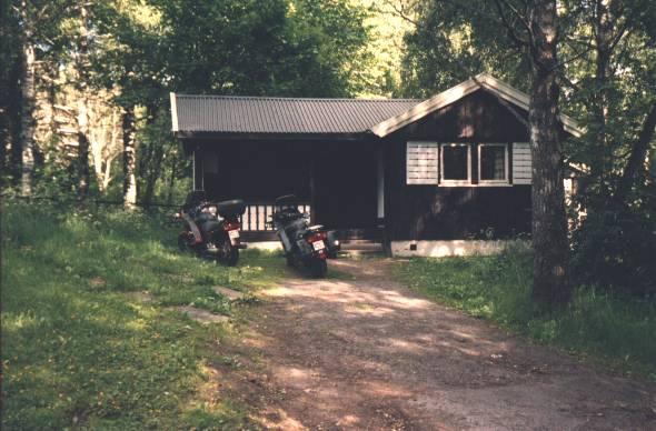 Övernattning i en hytte strax utanför Oslo