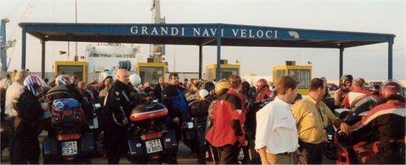 Jaha, så var det dags för sista färjan Sardinien-Genua