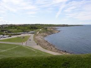 Utsikt från Varbergs fästning