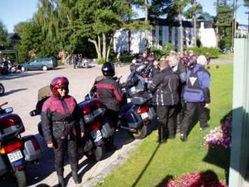 Dags för avfärd för en 20-milatur i Skåne och Blekinge.