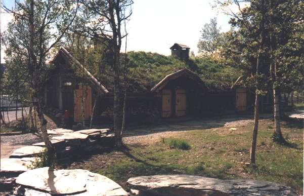 Vikingahuset där vi hade avslutningsmiddagen