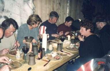 Här äter vi, grillad oxfile på vikingavis