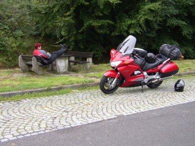 En paus någonstans i mellersta Tyskland