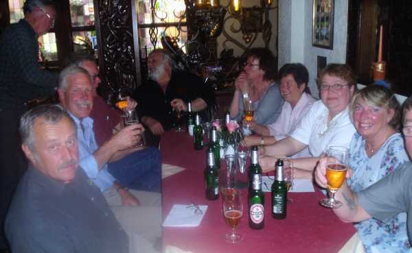 Tillbaka till hotell Altdeutsche smakade ölen gott, igen!