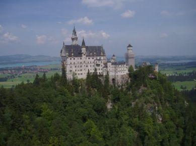 Slottet vid Hohenschwangau.