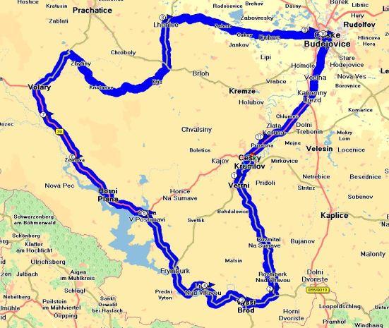 På lördagen körde vi en fin tur på småvägar i omgivningen, ca 175km