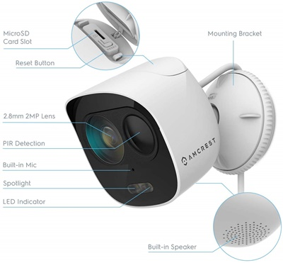 Amcret adc2w wifi camera
