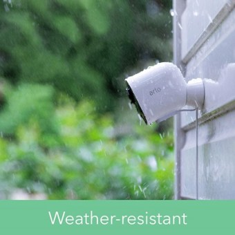 Arlo Ultra with weatherproof housing