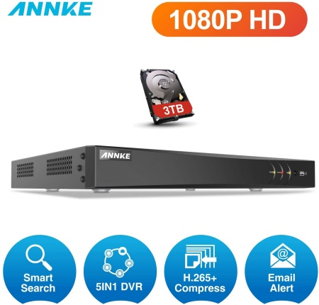 Annke 2 channel DVR