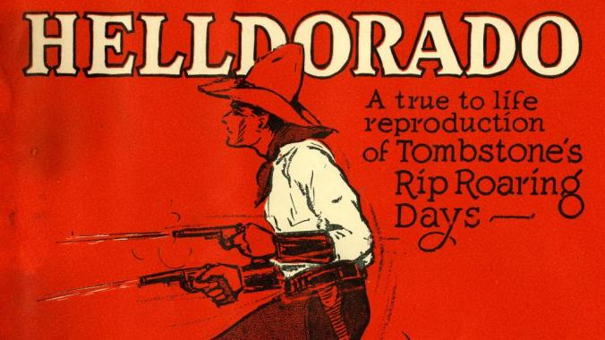 Cover to Helldorado Program, October 24-27, 1929