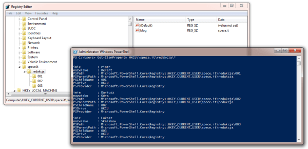 powershell registry read example 3
