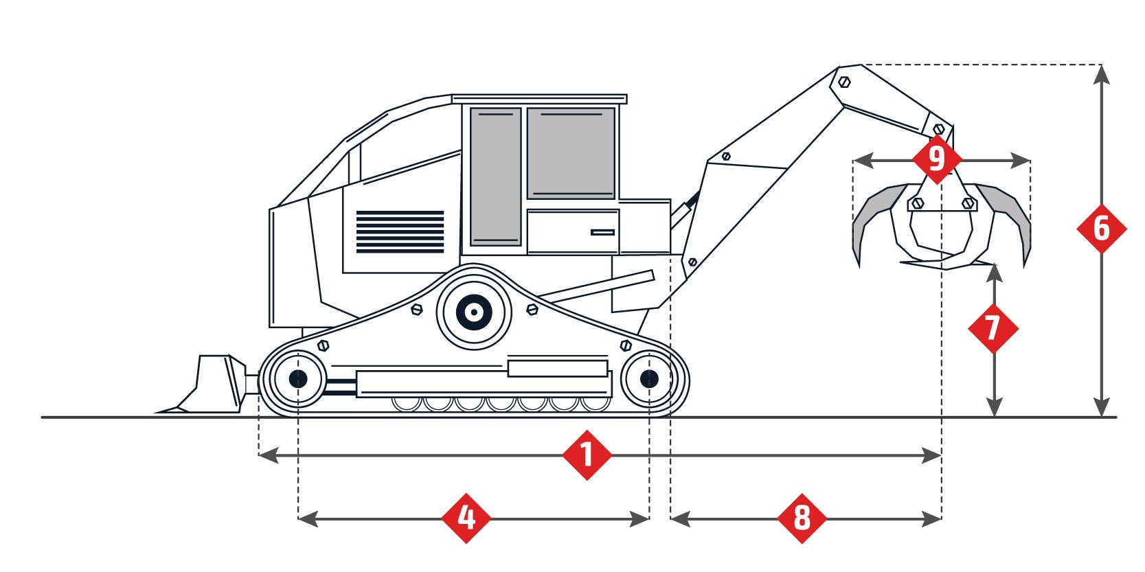 Caterpillar 527 Specifications Skidding Tractor Skidder