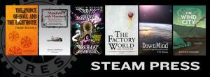 Steam Press books