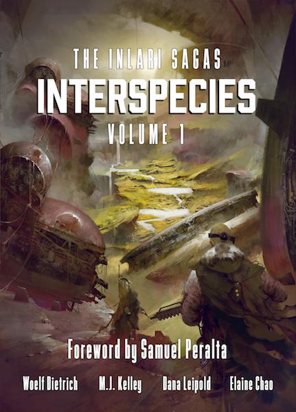 Interspecies (The Inlari Sagas) Volume 1 – The Paperback