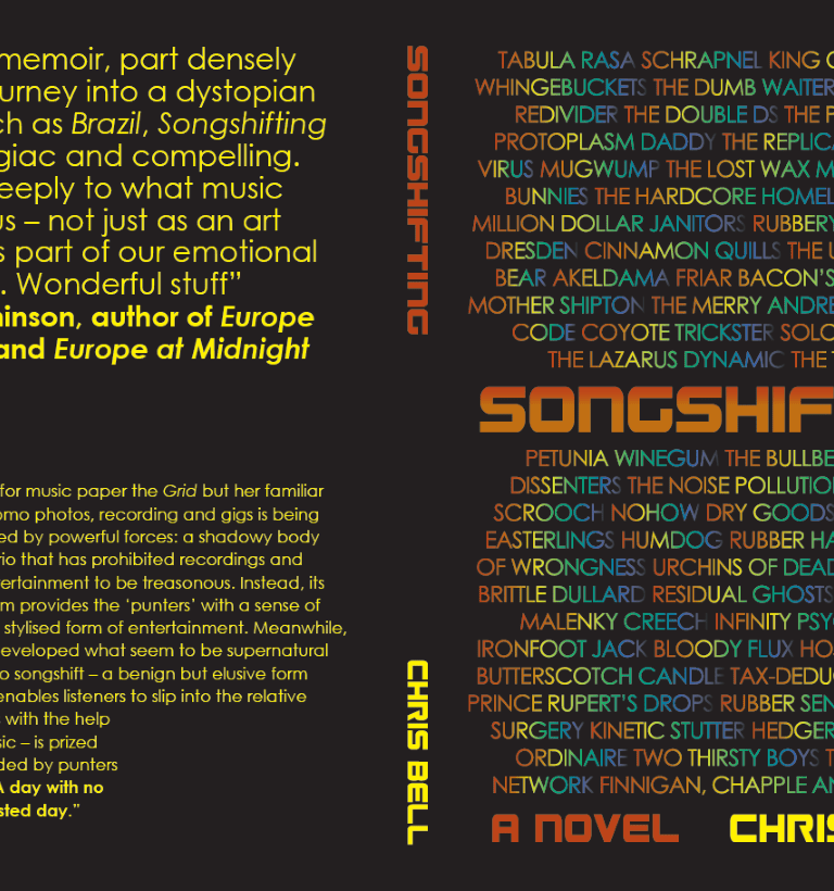 'Songshifting': a new novel by Chris Bell – out now