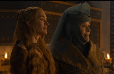 Cersei and Lady Olenna