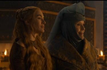 Cersei and Lady Olenna