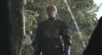 Jaime (off screen) and Brienne