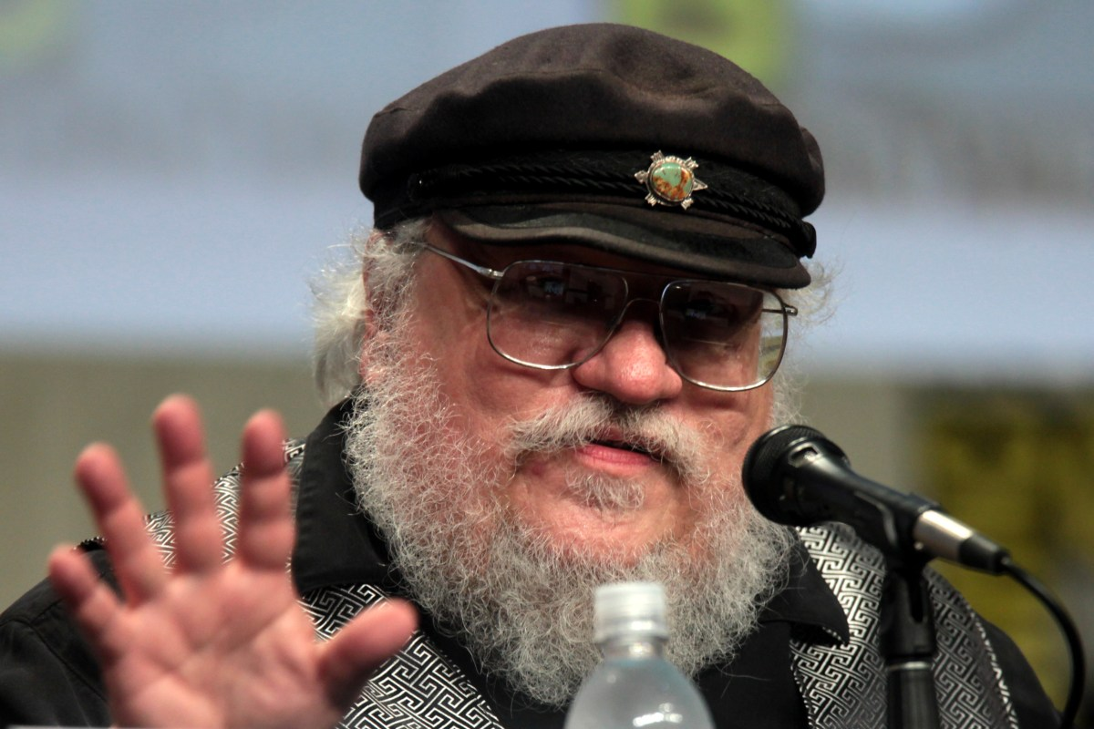 George R. R. Martin at SDCC