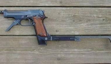 Beretta 93R Machine Pistol