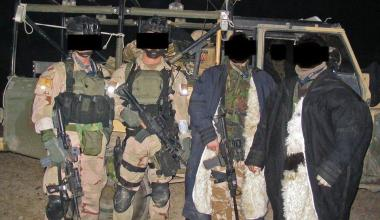Delta Force 1st SFOD-D operators in Afghanistan