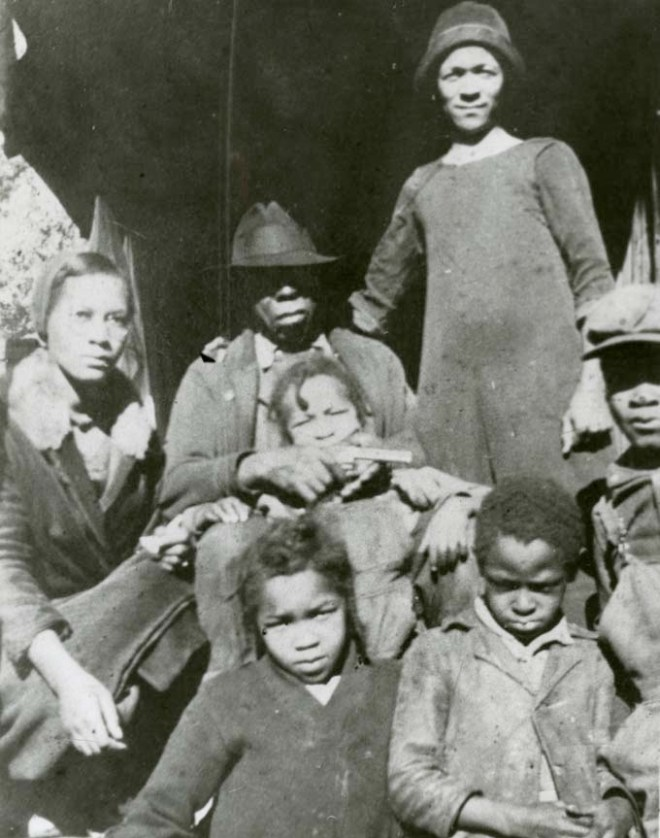 Alfred and Flora Bowditch and their five children