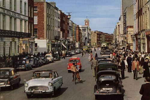 View of O'Connell Street, Limerick city