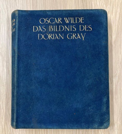 blue book cover with gold lettering