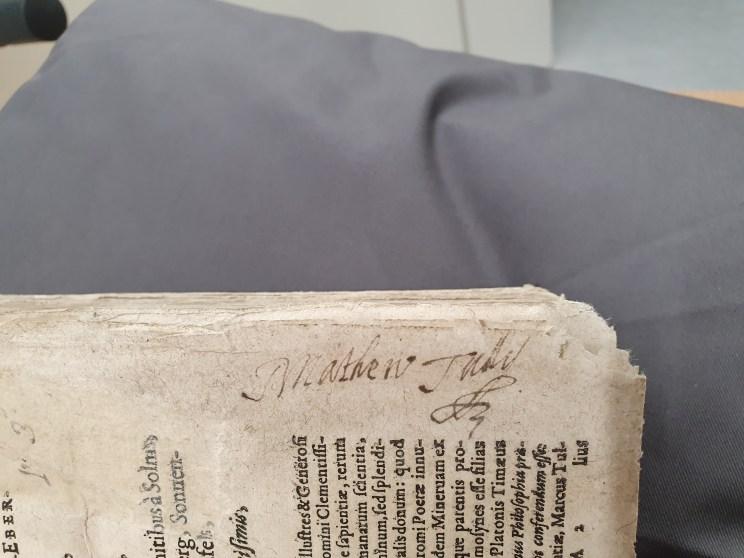 Mathew Tully's signature