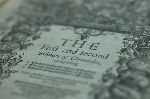 Portion of the title page of F.17.48