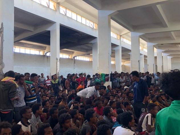 Detention Centre - Al Zintan