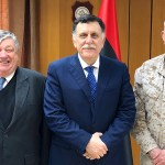 Peter Bodde e Thomas Waldhauser (AFRICOM) visitano il premier libico a Tripoli