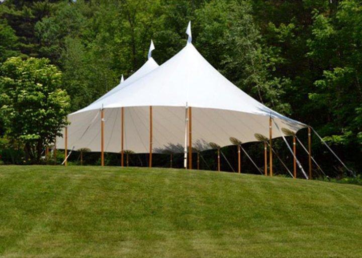 Tidewater Sailcloth Tent Rental NH MA ME Wedding