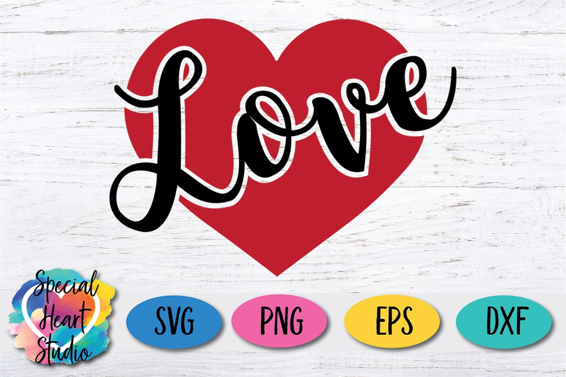 Download Love (Out of Heart) SVG Cut File - Special Heart Studio