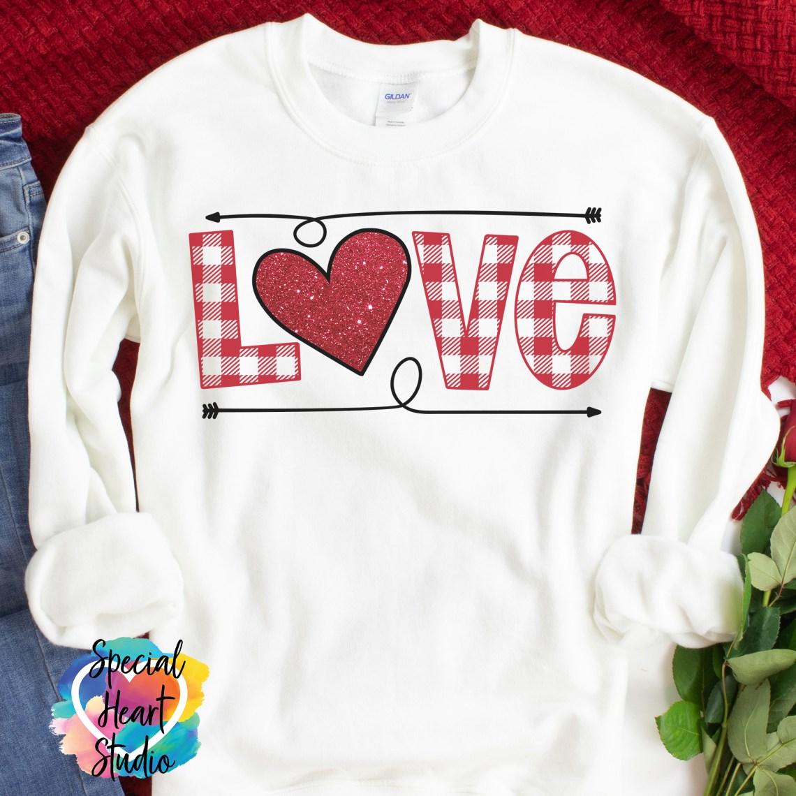 Download Love Plaid SVG Cut File - Special Heart Studio - Cut files ...