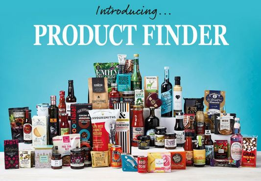 Product Finder is your new fine food discovery tool