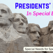 Presidents Day in Special Ed