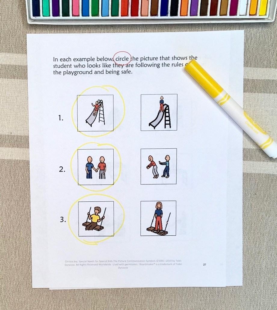 recess rules quiz