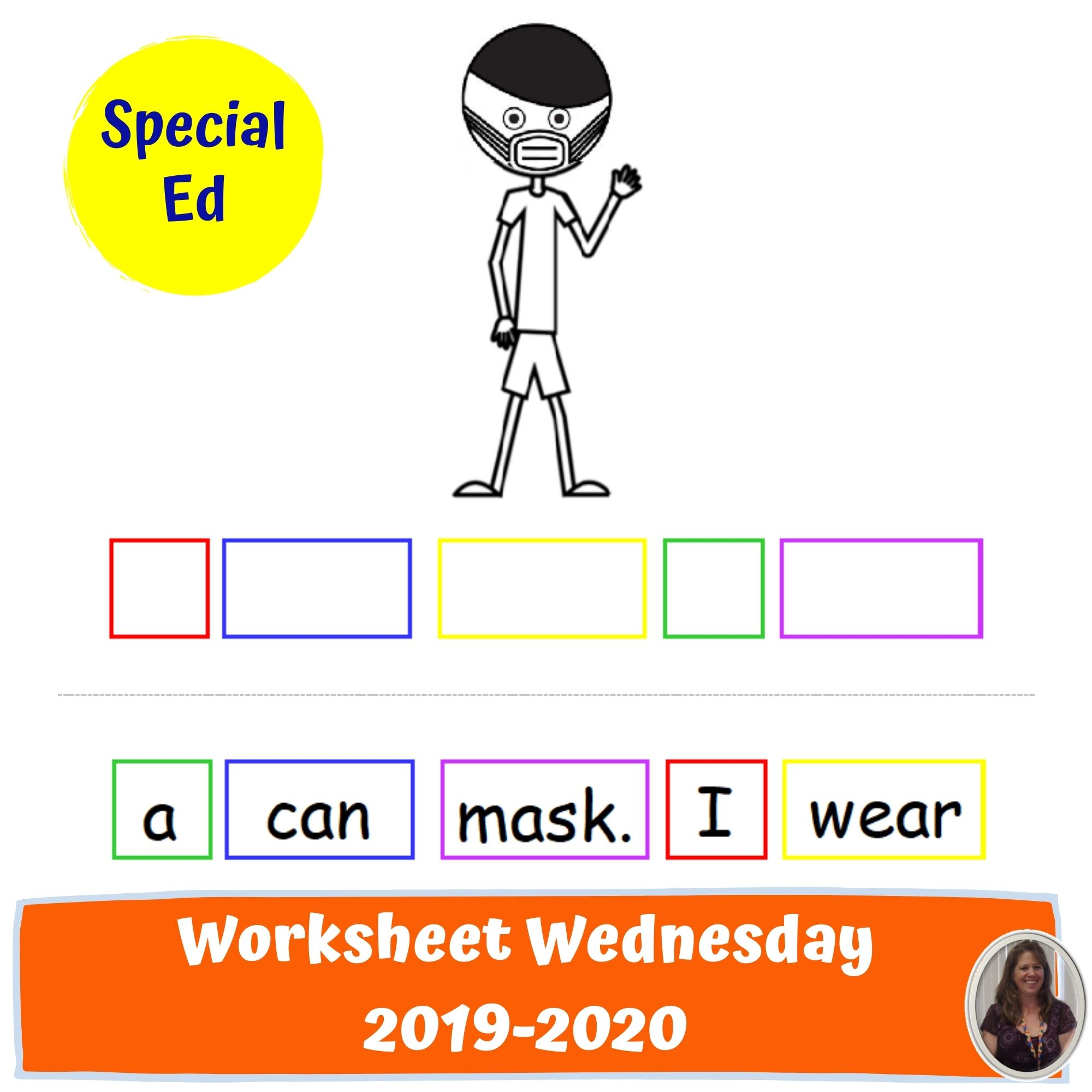 One Year Of Wednesday Worksheets For Special Education