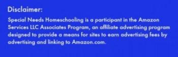 Amazon disclaimer