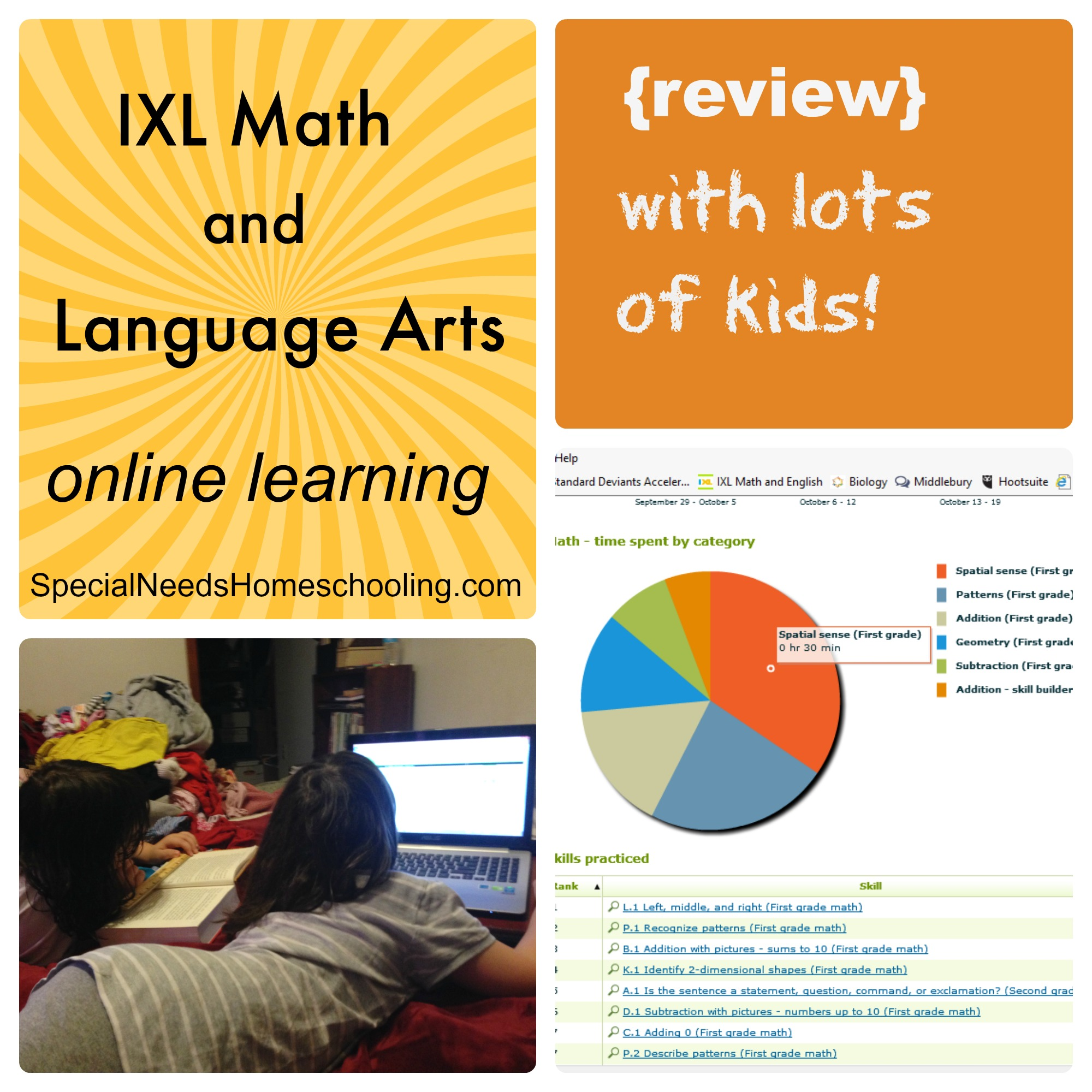 IXL Math and Language Arts online learning {review} - Special Needs ...