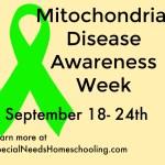 Mitochondrial Disease Awareness Week 2016
