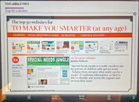 """Special Needs Jungle named in The Times """"Top 50 Sites To Make You Smarter"""""""