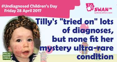 "Tilly's ""tried on"" lots of diagnoses, but none fit her mystery ultra-rare condition"