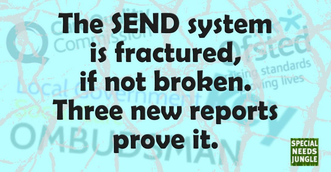 The SEND system is fractured, if not broken. Three new reports prove it.