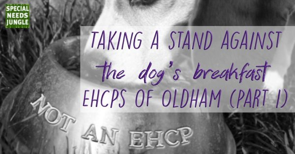 Taking a stand against the dogs breakfast EHCPs Oldham