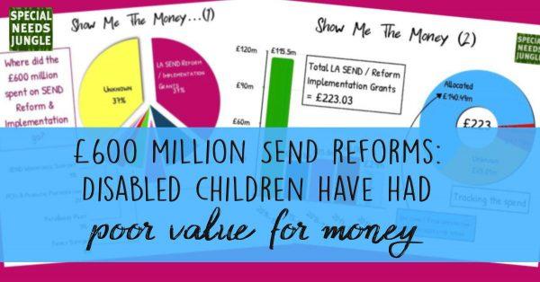 £600 million SEND reforms: Disabled children have had poor value for money