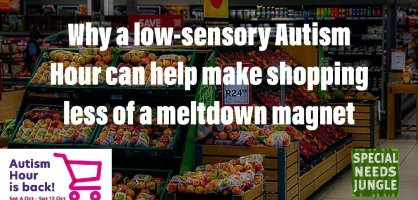 Why a low-sensory Autism Hour can help make shopping less of a meltdown magnet