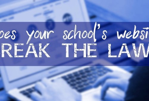 Does your school's website break the law?