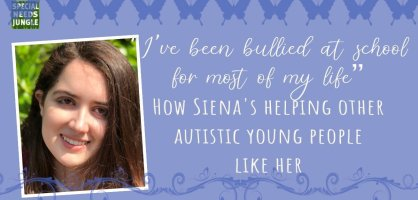 """I've been bullied at school for most of my life"" How Siena's helping other autistic young people like her"